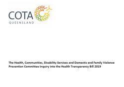 The Health, Communities, Disability Services and Domestic and Family Violence Prevention Committee Inquiry into the Health Transparency Bill 2019 preview image